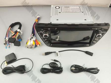 NAVIGATIE Suzuki S-Cross 2014+, ANDROID 9, Quadcore|PX30|/ 2GB RAM + 16GB ROM cu DVD, 7 Inch - AD-BGWCRS14P515