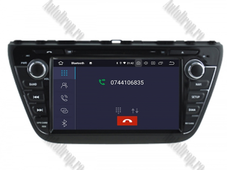 NAVIGATIE Suzuki S-Cross 2014+, ANDROID 9, Quadcore|PX30|/ 2GB RAM + 16GB ROM cu DVD, 7 Inch - AD-BGWCRS14P55