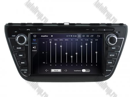 NAVIGATIE Suzuki S-Cross 2014+, ANDROID 9, Quadcore|PX30|/ 2GB RAM + 16GB ROM cu DVD, 7 Inch - AD-BGWCRS14P56