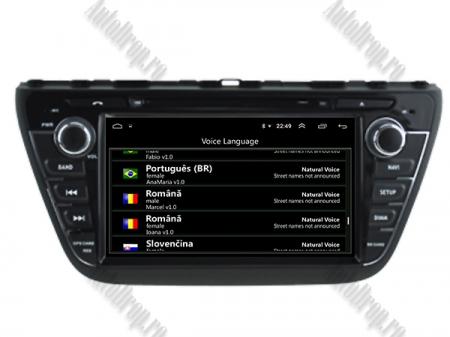 NAVIGATIE Suzuki S-Cross 2014+, ANDROID 9, Quadcore|PX30|/ 2GB RAM + 16GB ROM cu DVD, 7 Inch - AD-BGWCRS14P58