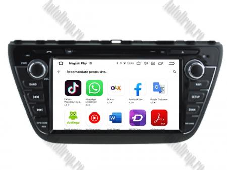 NAVIGATIE Suzuki S-Cross 2014+, ANDROID 9, Quadcore|PX30|/ 2GB RAM + 16GB ROM cu DVD, 7 Inch - AD-BGWCRS14P59