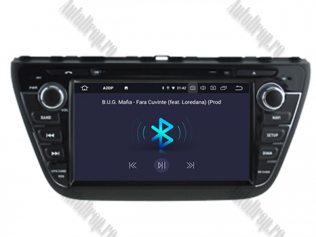NAVIGATIE Suzuki S-Cross 2014+, ANDROID 9, Quadcore|PX30|/ 2GB RAM + 16GB ROM cu DVD, 7 Inch - AD-BGWCRS14P54
