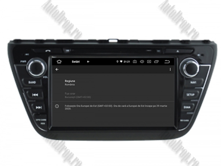 NAVIGATIE Suzuki S-Cross 2014+, ANDROID 9, Quadcore|PX30|/ 2GB RAM + 16GB ROM cu DVD, 7 Inch - AD-BGWCRS14P514