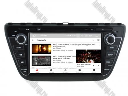 NAVIGATIE Suzuki S-Cross 2014+, ANDROID 9, Quadcore|PX30|/ 2GB RAM + 16GB ROM cu DVD, 7 Inch - AD-BGWCRS14P510