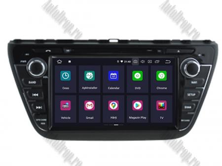 NAVIGATIE Suzuki S-Cross 2014+, ANDROID 9, Quadcore|PX30|/ 2GB RAM + 16GB ROM cu DVD, 7 Inch - AD-BGWCRS14P51