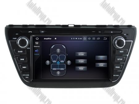 NAVIGATIE Suzuki S-Cross 2014+, ANDROID 9, Quadcore PX30 / 2GB RAM + 16GB ROM cu DVD, 7 Inch - AD-BGWCRS14P35