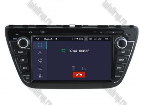 NAVIGATIE Suzuki S-Cross 2014+, ANDROID 9, Quadcore PX30 / 2GB RAM + 16GB ROM cu DVD, 7 Inch - AD-BGWCRS14P34