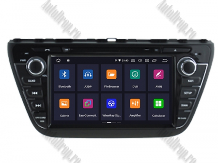 NAVIGATIE Suzuki S-Cross 2014+, ANDROID 9, Quadcore PX30 / 2GB RAM + 16GB ROM cu DVD, 7 Inch - AD-BGWCRS14P32