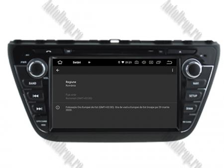NAVIGATIE Suzuki S-Cross 2014+, ANDROID 9, Quadcore PX30 / 2GB RAM + 16GB ROM cu DVD, 7 Inch - AD-BGWCRS14P39