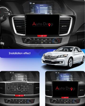 Navigatie Honda Accord 9 (2013-2017), Android 9.1, QUADCORE|MTK| / 1GB RAM + 16GB ROM, 10.1 Inch - AD-BGPACCORD14MTK17