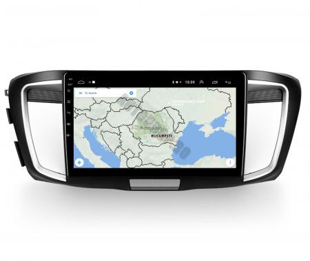 Navigatie Honda Accord 9 (2013-2017), Android 9.1, QUADCORE|MTK| / 1GB RAM + 16GB ROM, 10.1 Inch - AD-BGPACCORD14MTK11