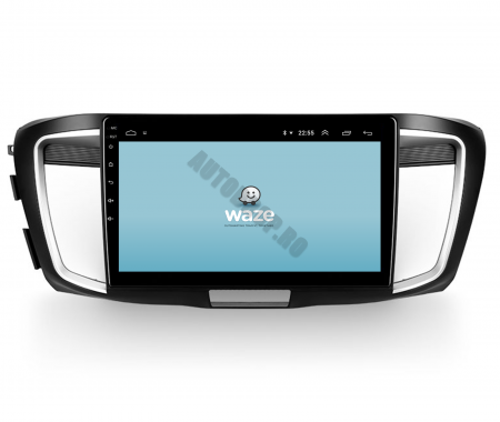 Navigatie Honda Accord 9 (2013-2017), Android 9.1, QUADCORE|MTK| / 1GB RAM + 16GB ROM, 10.1 Inch - AD-BGPACCORD14MTK8