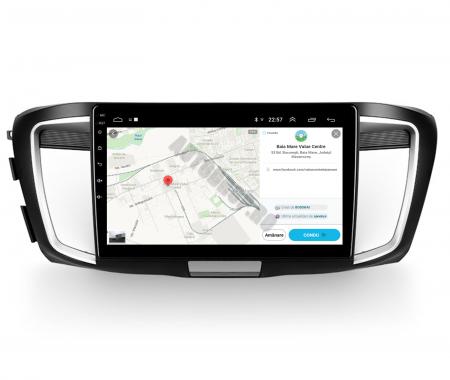 Navigatie Honda Accord 9 (2013-2017), Android 9.1, QUADCORE|MTK| / 1GB RAM + 16GB ROM, 10.1 Inch - AD-BGPACCORD14MTK12