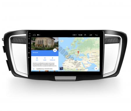 Navigatie Honda Accord 9 (2013-2017), Android 9.1, QUADCORE|MTK| / 1GB RAM + 16GB ROM, 10.1 Inch - AD-BGPACCORD14MTK13