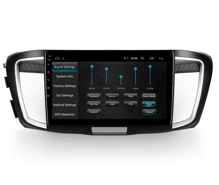Navigatie Honda Accord 9 (2013-2017), Android 9.1, QUADCORE|MTK| / 1GB RAM + 16GB ROM, 10.1 Inch - AD-BGPACCORD14MTK7