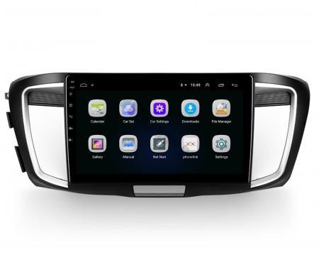 Navigatie Honda Accord 9 (2013-2017), Android 9.1, QUADCORE|MTK| / 1GB RAM + 16GB ROM, 10.1 Inch - AD-BGPACCORD14MTK3