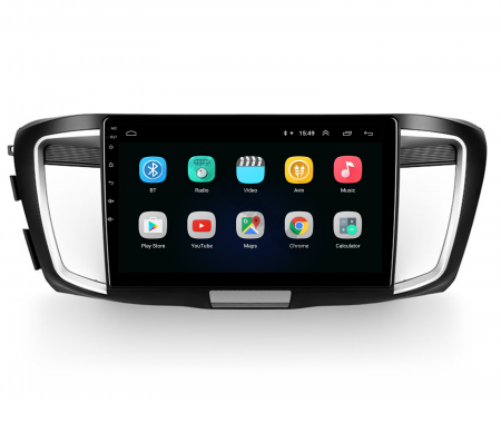 Navigatie Honda Accord 9 (2013-2017), Android 9.1, QUADCORE|MTK| / 1GB RAM + 16GB ROM, 10.1 Inch - AD-BGPACCORD14MTK2