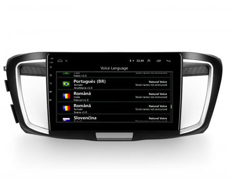 Navigatie Honda Accord 9 (2013-2017), Android 9.1, QUADCORE|MTK| / 1GB RAM + 16GB ROM, 10.1 Inch - AD-BGPACCORD14MTK6