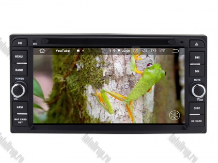 NAVIGATIE TOYOTA, ANDROID 10, Quadcore|PX30|/ 2GB RAM + 16GB ROM cu DVD, 7 Inch - AD-BGWTOYOTAP39