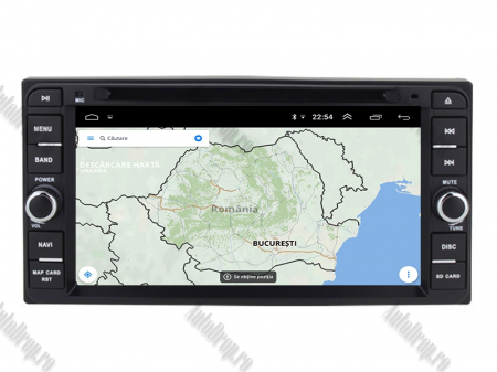 NAVIGATIE TOYOTA, ANDROID 10, Quadcore|PX30|/ 2GB RAM + 16GB ROM cu DVD, 7 Inch - AD-BGWTOYOTAP310