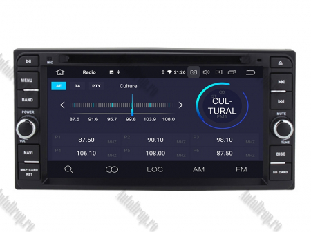 NAVIGATIE TOYOTA, ANDROID 10, Quadcore|PX30|/ 2GB RAM + 16GB ROM cu DVD, 7 Inch - AD-BGWTOYOTAP33