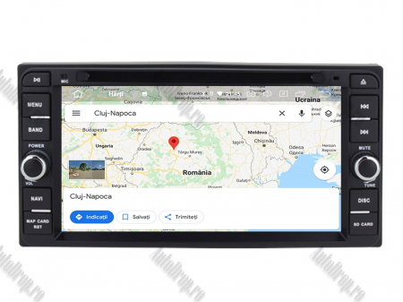 NAVIGATIE TOYOTA, ANDROID 10, Quadcore|PX30|/ 2GB RAM + 16GB ROM cu DVD, 7 Inch - AD-BGWTOYOTAP311