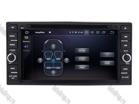 NAVIGATIE TOYOTA, ANDROID 10, Quadcore|PX30|/ 2GB RAM + 16GB ROM cu DVD, 7 Inch - AD-BGWTOYOTAP36