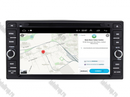NAVIGATIE TOYOTA, ANDROID 10, Quadcore|PX30|/ 2GB RAM + 16GB ROM cu DVD, 7 Inch - AD-BGWTOYOTAP312