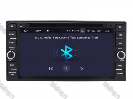 NAVIGATIE TOYOTA, ANDROID 10, Quadcore|PX30|/ 2GB RAM + 16GB ROM cu DVD, 7 Inch - AD-BGWTOYOTAP34
