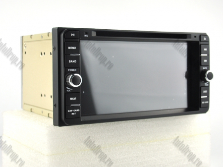 NAVIGATIE TOYOTA, ANDROID 10, Quadcore|PX30|/ 2GB RAM + 16GB ROM cu DVD, 7 Inch - AD-BGWTOYOTAP314