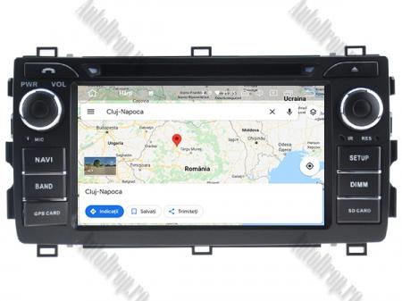 NAVIGATIE Toyota Auris 2013+, ANDROID 10, Quadcore|PX30|/ 2GB RAM + 16GB ROM cu DVD, 7 Inch - AD-BGWAURIS2P311