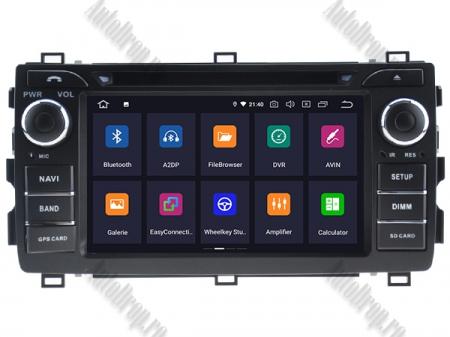 NAVIGATIE Toyota Auris 2013+, ANDROID 10, Quadcore|PX30|/ 2GB RAM + 16GB ROM cu DVD, 7 Inch - AD-BGWAURIS2P31