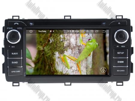 NAVIGATIE Toyota Auris 2013+, ANDROID 10, Quadcore|PX30|/ 2GB RAM + 16GB ROM cu DVD, 7 Inch - AD-BGWAURIS2P38