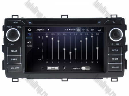 NAVIGATIE Toyota Auris 2013+, ANDROID 10, Quadcore|PX30|/ 2GB RAM + 16GB ROM cu DVD, 7 Inch - AD-BGWAURIS2P35