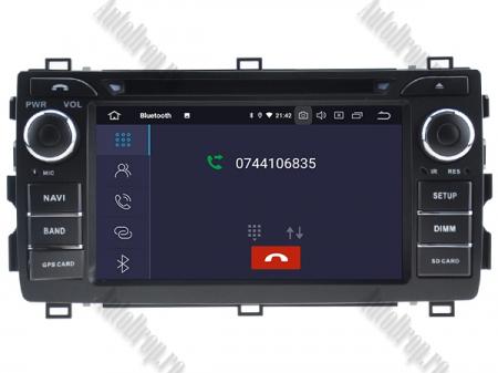 NAVIGATIE Toyota Auris 2013+, ANDROID 10, Quadcore|PX30|/ 2GB RAM + 16GB ROM cu DVD, 7 Inch - AD-BGWAURIS2P34
