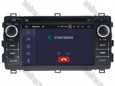 NAVIGATIE Toyota Auris 2013+, ANDROID 10, Octacore|PX5|/ 4GB RAM + 64GB ROM cu DVD, 7 Inch - AD-BGWAURIS2P54