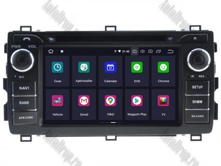 NAVIGATIE Toyota Auris 2013+, ANDROID 10, Quadcore|PX30|/ 2GB RAM + 16GB ROM cu DVD, 7 Inch - AD-BGWAURIS2P32