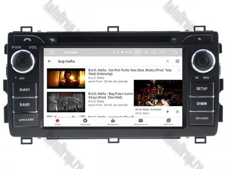 NAVIGATIE Toyota Auris 2013+, ANDROID 10, Quadcore|PX30|/ 2GB RAM + 16GB ROM cu DVD, 7 Inch - AD-BGWAURIS2P37