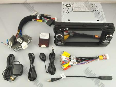 NAVIGATIE Toyota Auris 2013+, ANDROID 10, Quadcore|PX30|/ 2GB RAM + 16GB ROM cu DVD, 7 Inch - AD-BGWAURIS2P313