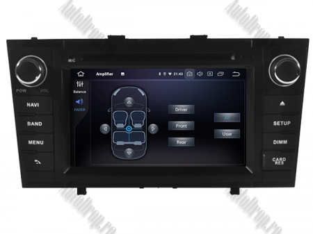 NAVIGATIE TOYOTA AVENSIS (2008-2013), ANDROID 10, Octacore|PX5|/ 4GB RAM + 64GB ROM cu DVD, 7 Inch - AD-BGWAVS2P5-B4