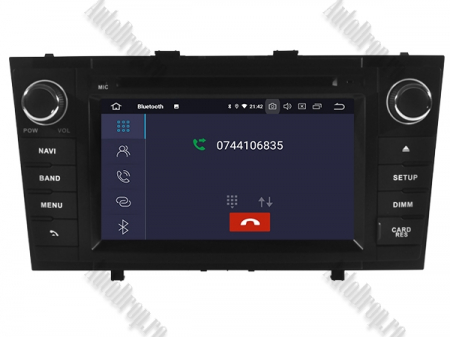 NAVIGATIE TOYOTA AVENSIS (2008-2013), ANDROID 10, Octacore|PX5|/ 4GB RAM + 64GB ROM cu DVD, 7 Inch - AD-BGWAVS2P5-B5