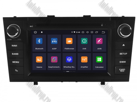 NAVIGATIE TOYOTA AVENSIS (2008-2013), ANDROID 10, Octacore|PX5|/ 4GB RAM + 64GB ROM cu DVD, 7 Inch - AD-BGWAVS2P5-B1