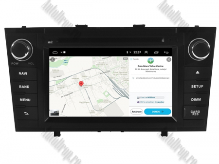 NAVIGATIE TOYOTA AVENSIS (2008-2013), ANDROID 10, Octacore|PX5|/ 4GB RAM + 64GB ROM cu DVD, 7 Inch - AD-BGWAVS2P5-B12