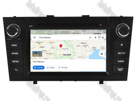 NAVIGATIE TOYOTA AVENSIS (2008-2013), ANDROID 10, Octacore|PX5|/ 4GB RAM + 64GB ROM cu DVD, 7 Inch - AD-BGWAVS2P5-B13