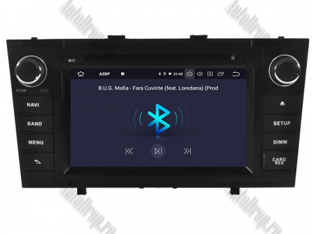 NAVIGATIE TOYOTA AVENSIS (2008-2013), ANDROID 10, Octacore|PX5|/ 4GB RAM + 64GB ROM cu DVD, 7 Inch - AD-BGWAVS2P5-B6