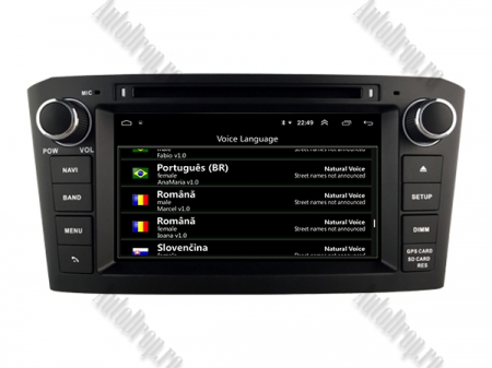 Navigatie Dedicata Toyota Avensis(2005-2008) cu Android [8]