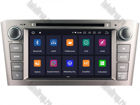 NAVIGATIE TOYOTA AVENSIS (2005-2008), ANDROID 10, Octacore|PX5|/ 4GB RAM + 64GB ROM cu DVD, 7 Inch - AD-BGWAVS1P5-S2