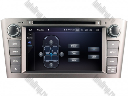 NAVIGATIE TOYOTA AVENSIS (2005-2008), ANDROID 10, Octacore|PX5|/ 4GB RAM + 64GB ROM cu DVD, 7 Inch - AD-BGWAVS1P5-S5