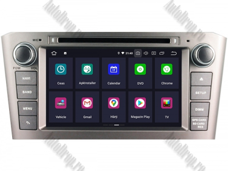 NAVIGATIE TOYOTA AVENSIS (2005-2008), ANDROID 10, Octacore|PX5|/ 4GB RAM + 64GB ROM cu DVD, 7 Inch - AD-BGWAVS1P5-S1
