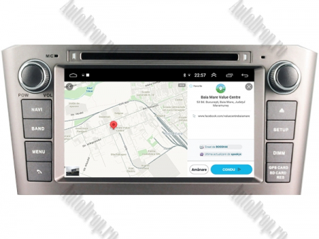 NAVIGATIE TOYOTA AVENSIS (2005-2008), ANDROID 10, Octacore|PX5|/ 4GB RAM + 64GB ROM cu DVD, 7 Inch - AD-BGWAVS1P5-S13